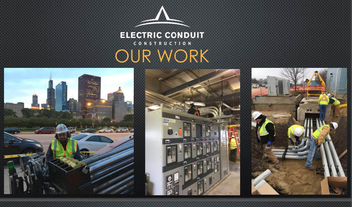 Electric Conduit Wrok Examples